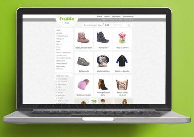 Web shop Ivančica B2B
