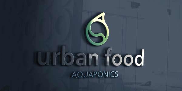 biota urban food logo mockup product