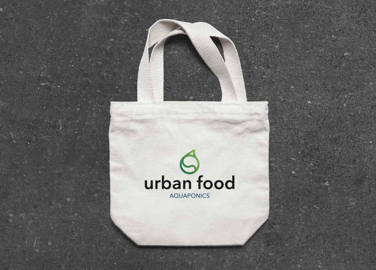 biota urban food mockup bag